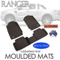 To FIt Ranger PX, PX2 SUPER Cab Kagu RUBBER