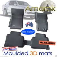 To FIt Amarok Dual Cab Kagu RUBBER