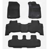 To FIt Prado 150 Series 2013 - 2018 KAGU Rubber (3 Rows)