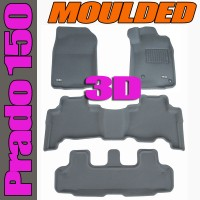 To FIt Prado 150 Series 2009 - 2012 KAGU Rubber (3 Rows)
