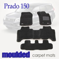 To FIt Prado 150 Series 2013 - 2018 KAGU CARPET (3 Rows)