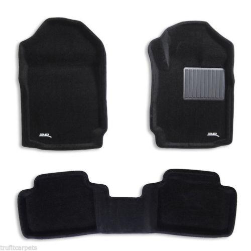 To Fit Ford Ranger SUPER Cab PX, PX2, PX3  3D Kagu CARPET