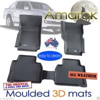 To FIt Amarok Dual Cab Kagu RUBBER