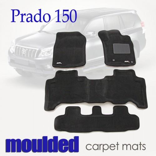 To FIt Toyota Prado 150 Series 2013 - 2019 KAGU CARPET (3 Rows)