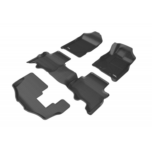 To Fit Ford Everest Kagu RUBBER (3 rows)