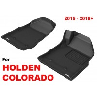 To Fit Holden Colorado 2015 - 2020 Front Pair 3D Kagu Rubber