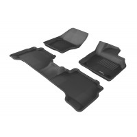 To Fit Ford Kuga TF 2013 - 2016 Front & Rear 3D Kagu Rubber Mats
