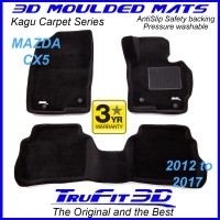 To Fit Mazda CX-5 - KE 2012 - 2016 Front & Rear Kagu Carpet