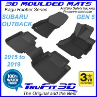 To FIt Subaru Outback Gen3 2009 - 2014  Front & Rear Kagu rubber