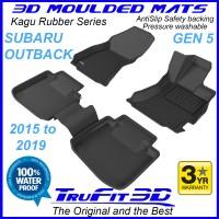To FIt Subaru Outback Gen4 2015 - 2019  Front & Rear Kagu rubber