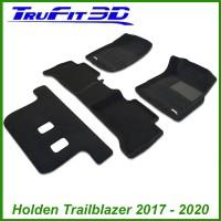 To Fit Holden Trailblazer Wagon 2017 - 2019 3-Row Set Kagu Carpet