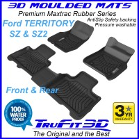 To FIt Ford Territory SZ, SZ2 Front & Rear 3D Maxtrac RUBBER