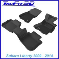 To FIt Subaru Liberty Gen4 2009 - 2014  Front & Rear Kagu rubber