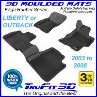 To FIt Subaru Liberty Gen3 2003 - 2008  Front & Rear Kagu rubber