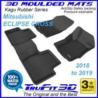 To FIt Mitsubishi Eclipse Cross 2018 - 2019 KAGU Rubber Front & Rear