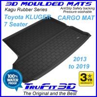 To Fit Toyota Kluger 2013 - 2019 3D KAGU Rubber Cargo Mat