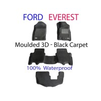 To Fit Ford Everest 2015 - 2020 3D Kagu CARPET (3 Rows Set)