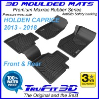 To Fit Holden Caprice 2013 - 2018 WN 3D MAXTRAC RUBBER Front & Rear