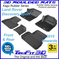 To Fit Land Rover Discovery Sport - 2015 - 2020  Front & Rear 3D Kagu Rubber