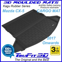 To Fit Mazda CX-5 2017 - 2020 3D Kagu Cargo Mat