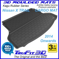 To Fit Nissan X-Trail 2014 - 2020 3D Kagu Cargo Mat