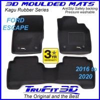 To Fit Ford Escape ZG 2016 - 2020 Front & Rear Kagu Rubber
